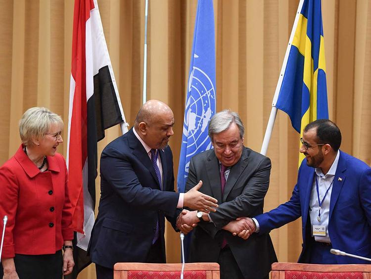Yemen truce talks Stockholm 13122018