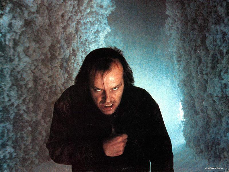 tab Jack Nicholson in The Shining (1980)