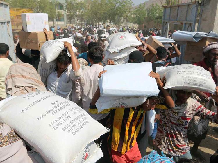 Internally displaced people in Yemen 14122018