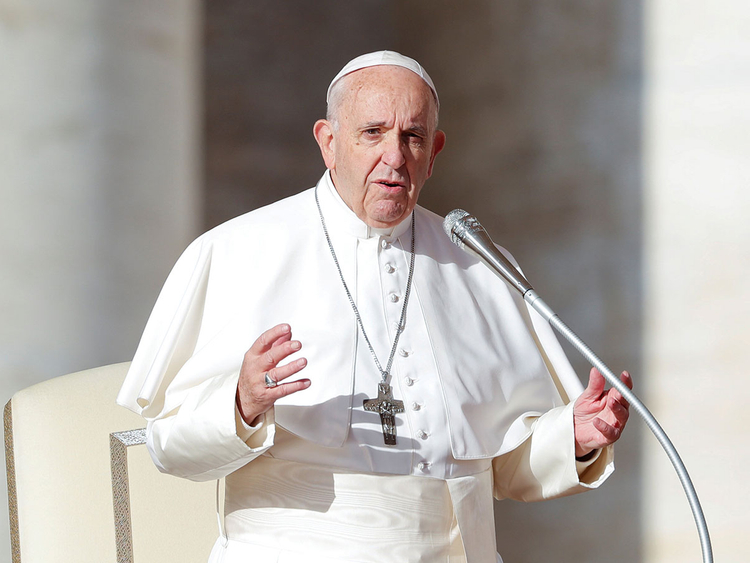 181215 Pope Francis