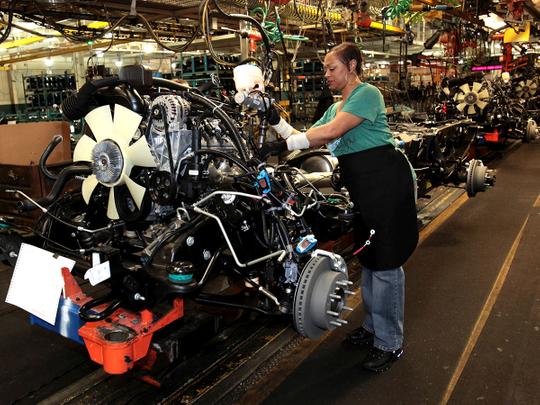 GM auto workers union declares strike