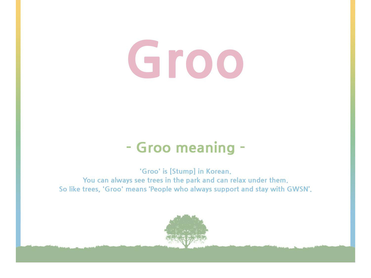 GWSN Groo Meaning