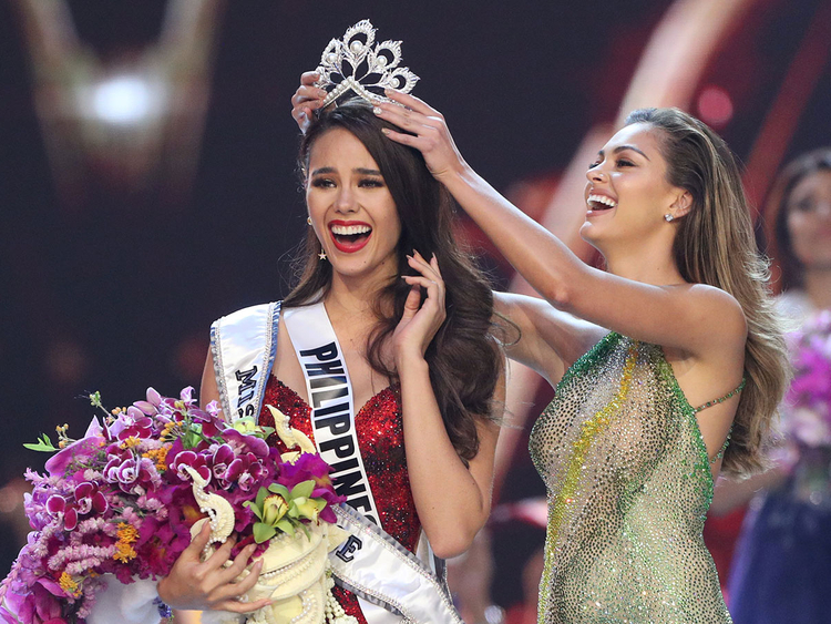 e65e0e3c0af7 Miss Philippines Catriona Gray named Miss Universe 2018