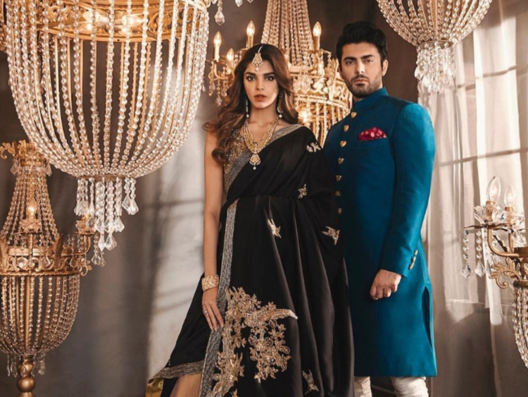 Sanam Saeed and Fawad Khan come together for a bridal shoot