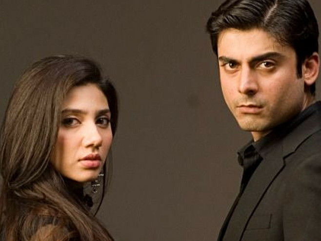 tab Fawad Khan and Mahira Khan in humsafar