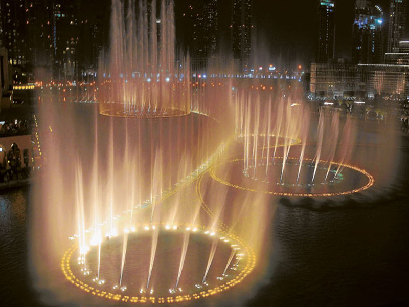 Dubai Mall Fountains