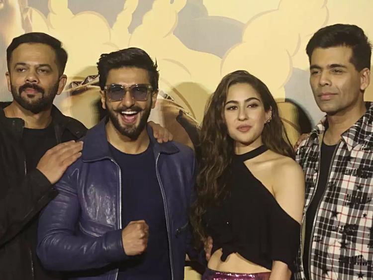 Karan Johar at the Simmba Trailer launch