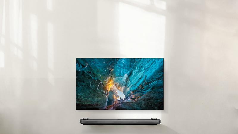 LG Signature Wallpaper TV