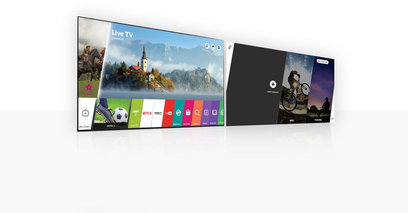 LG Signature Wallpaper TV webOS 3.5