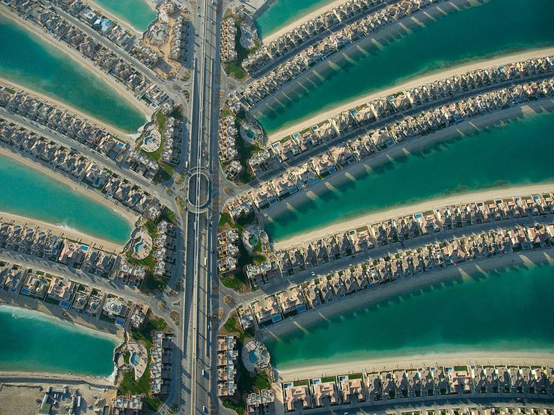 My dream destinations. Palm Jumeirah Dubai.