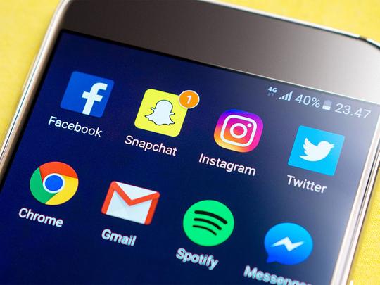 facebook snapchat instagram twitter generic