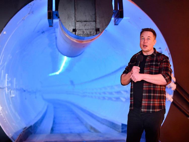 Elon Musk with Boring Company 1912018