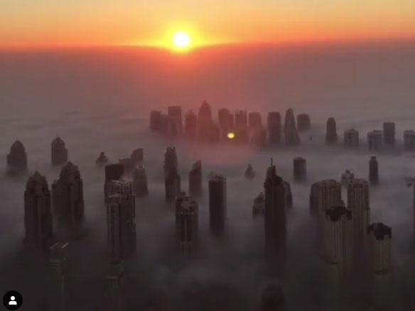 181220 Dubai fog