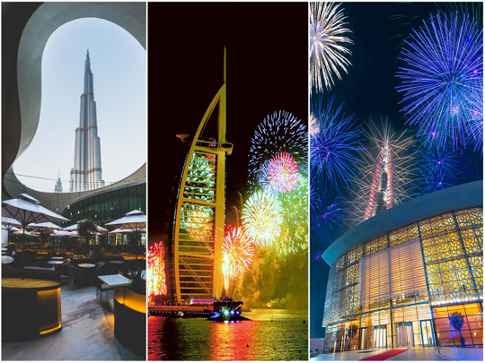 Where to celebrate NYE in Dubai