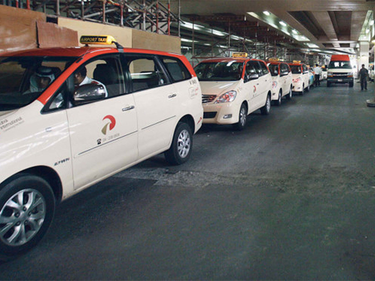 Dubai taxi booking mobile app S'hail down | Transport – Gulf