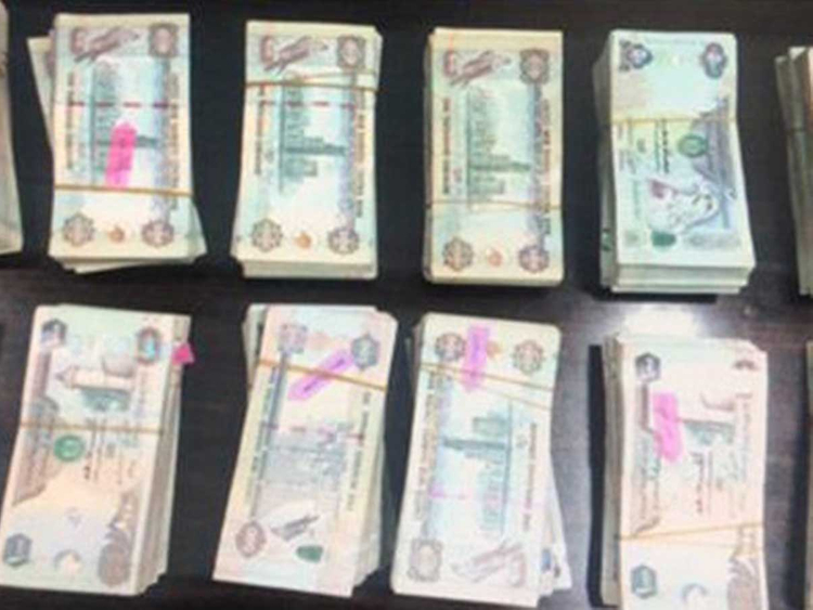 Cash recovered