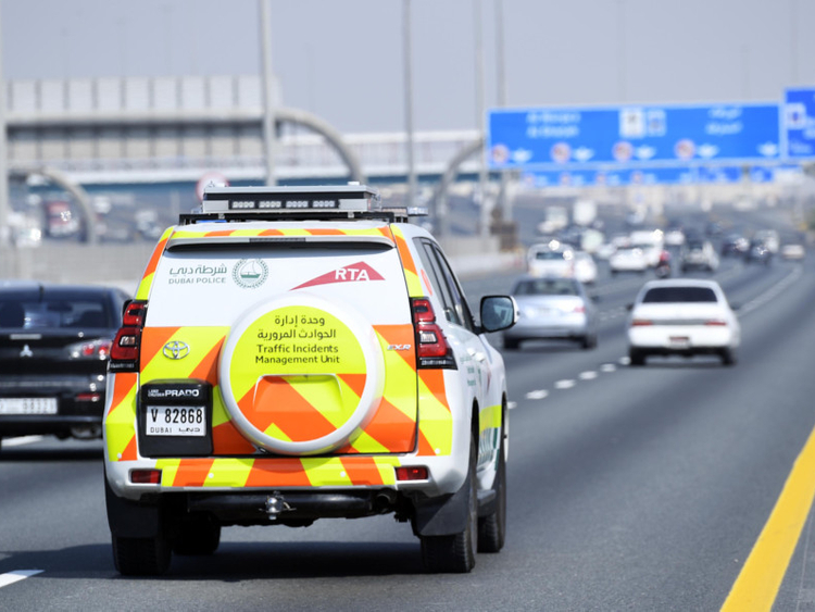 NAT NAT Traffic Accident Management Unit patrol12255