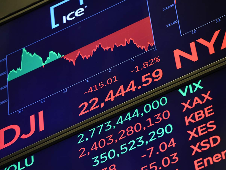 New York Stock Exchange closing number 22122018