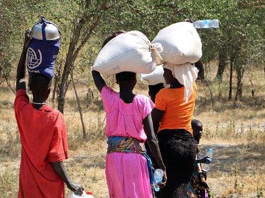 Nhialdu in South Sudan