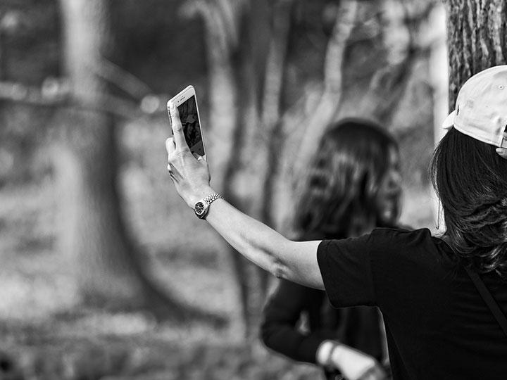 Selfie taking