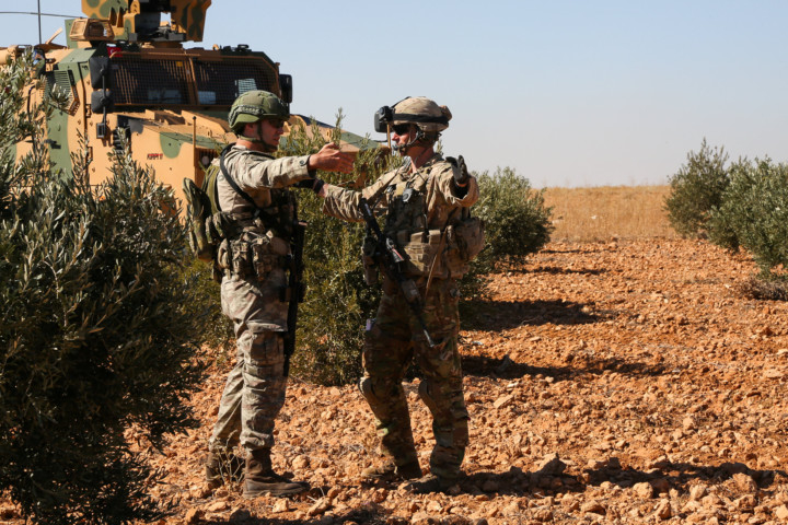 Turkisn soldiers in Syria