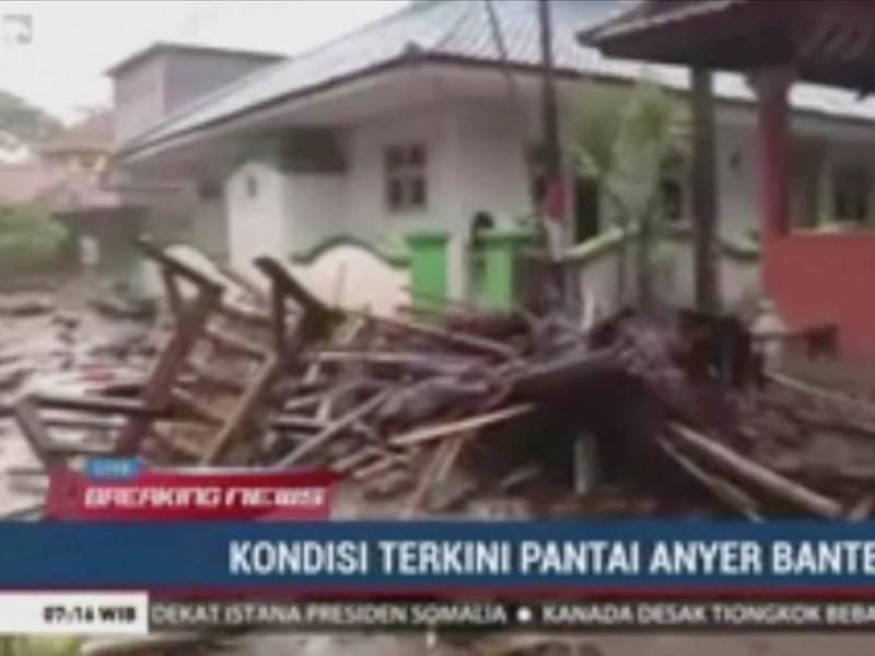 Volcano tsunami Indonesia 23122018
