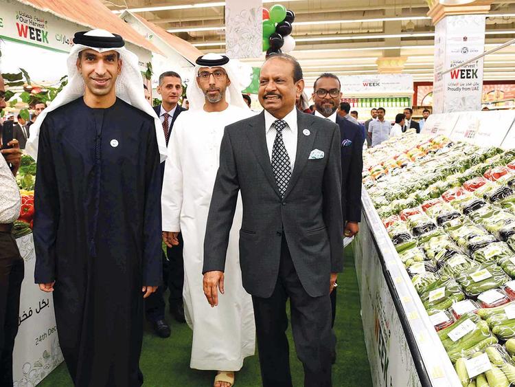 Dr Thani Bin Ahmad Al Zeyoudi and Yousuf Ali M.A.
