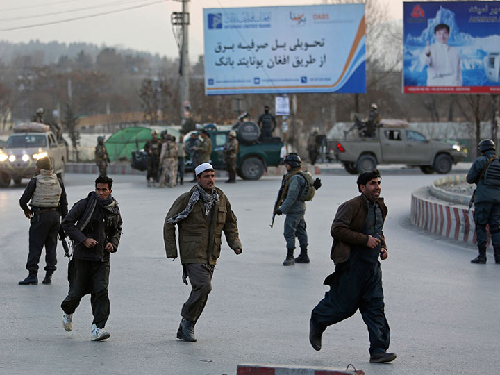 Kabul clash
