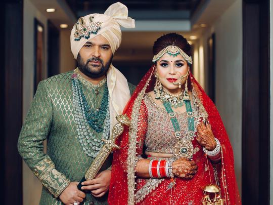 Kapil Sharma and Ginni wedding1