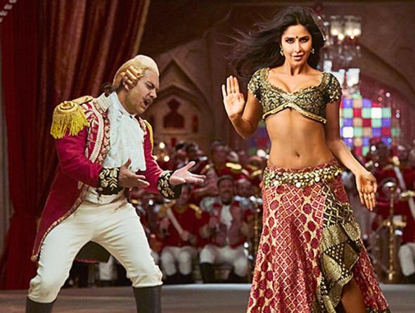 Katrina Kaif as a dancer in Thugs Of Hindostan2