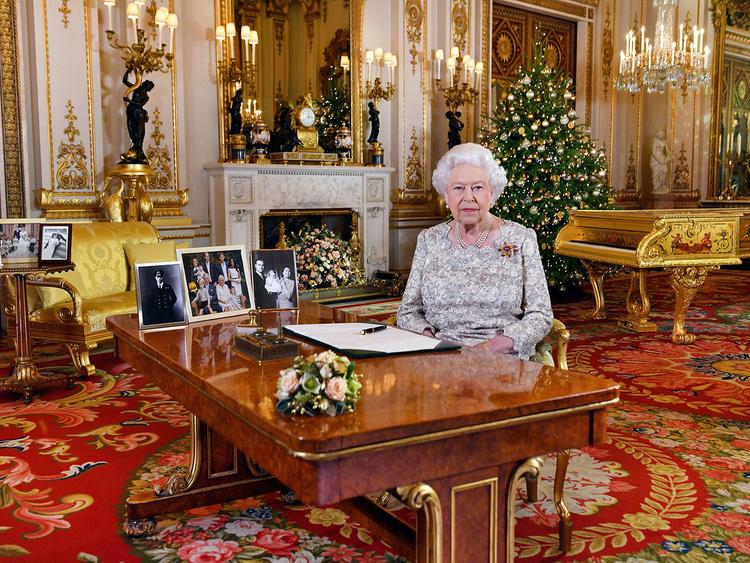 Britain's Queen Elizabeth Xmas 2018
