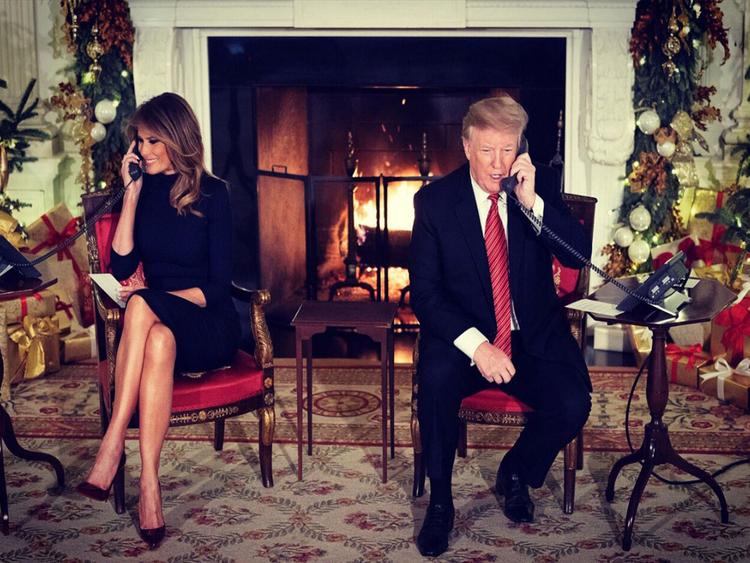 Donald Trump on Christmas