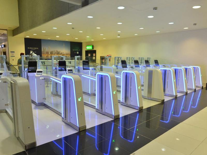 Dubai Airports smart gates