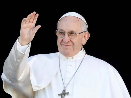 Pope Francis on Christmas2018