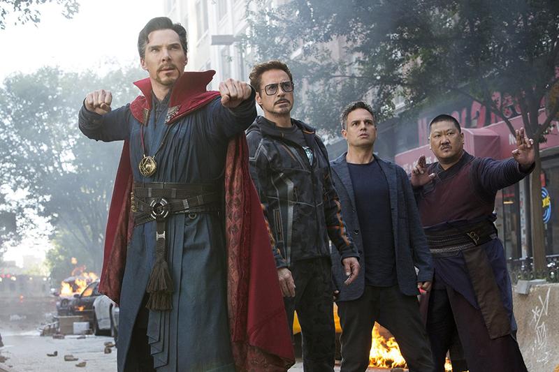 The Avengers Infinity War 3