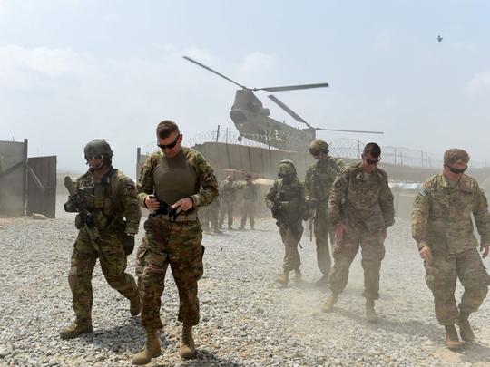 US soldiers in Afghanistan