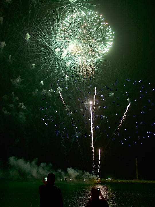 DSF kicks off with fireworks