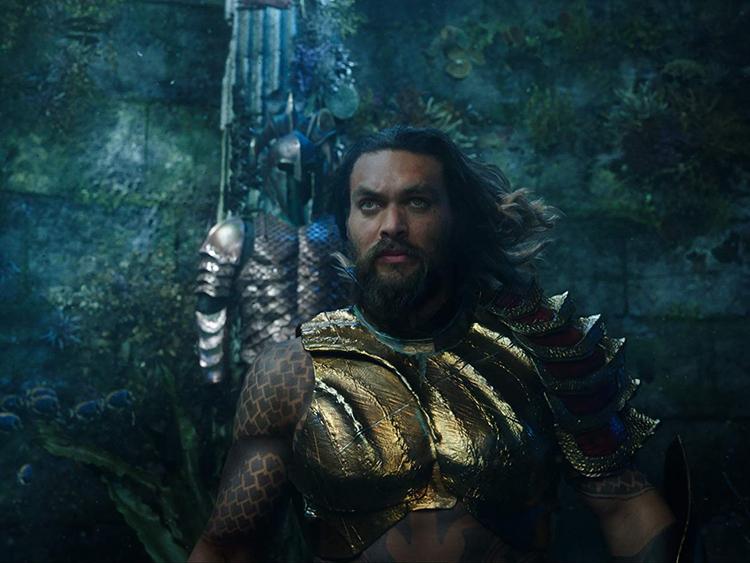Jaon Momoa in Aquaman2
