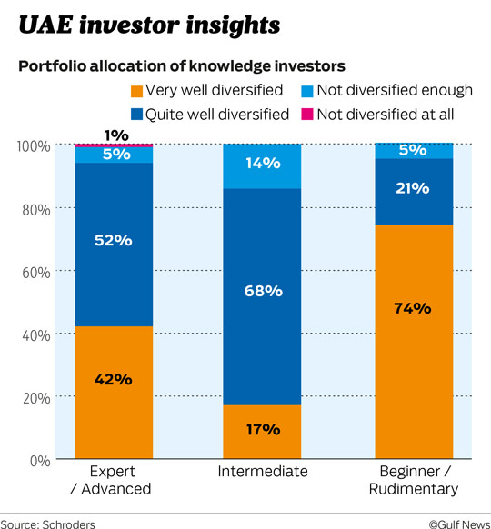Portfolio allocation of knowledge investors