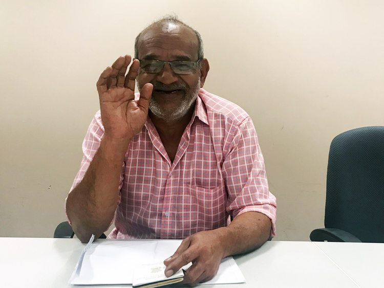 Thazhathethil Kunhahammed Indian amnesty seeker