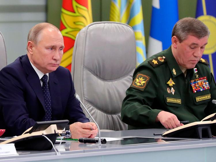 Russian launch Avangard
