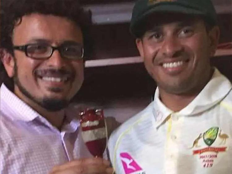 Arsalan Khawaja with brother 28122018