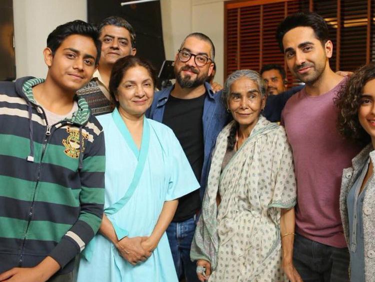 Badhaai Ho cast