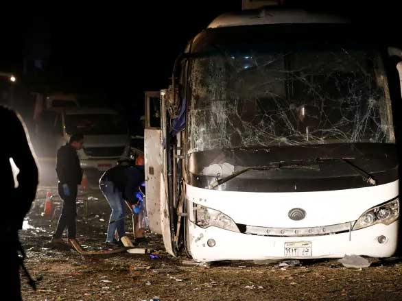 Cairo tourist bus