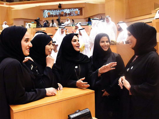 Emirati professor shares importance of women empowerment