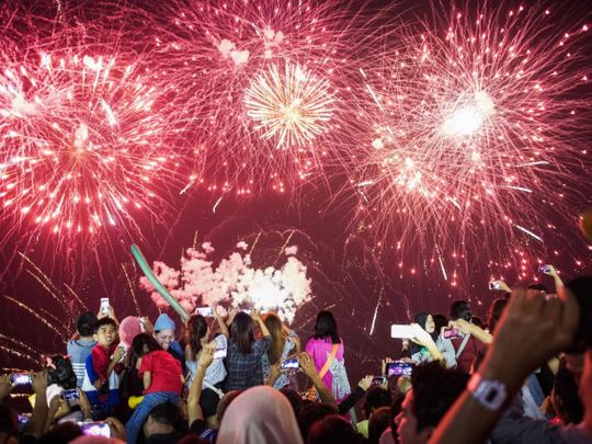 Filipino fireworks