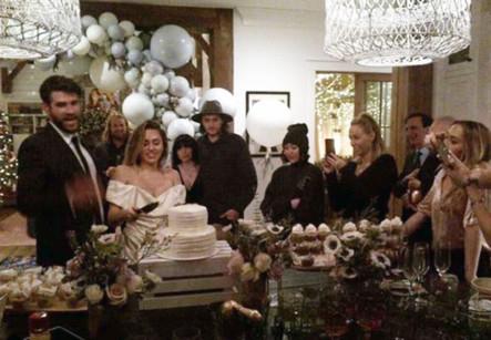 Miley Cyrus wedding 2