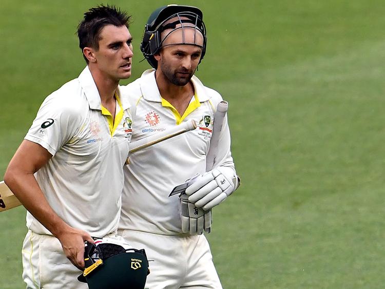 Australia's unbeaten batting pair