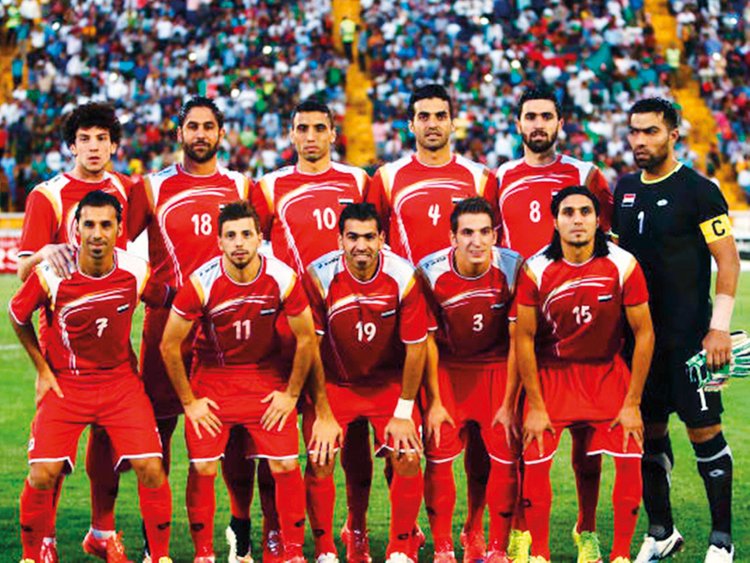 The final Syria 23-man squad