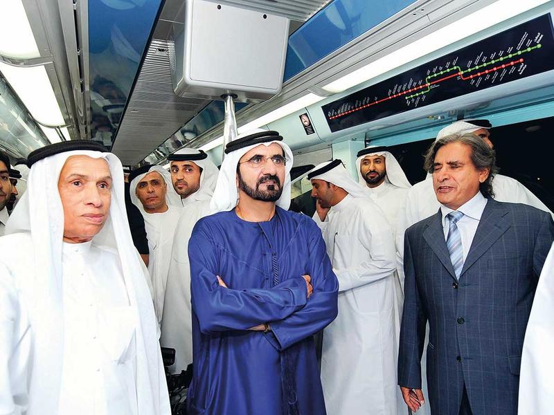 Dubai Metro launch 2009